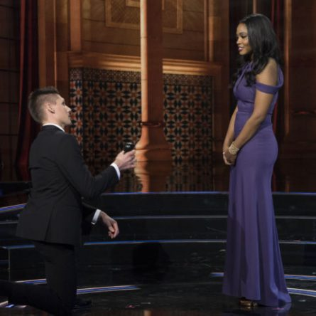 A New Hampshire man proposed — sort of — on reality show 'The Proposal'