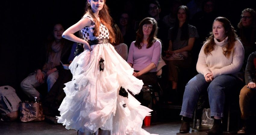 23 'trashy' looks served at 'Rubbish to Runway' fashion show