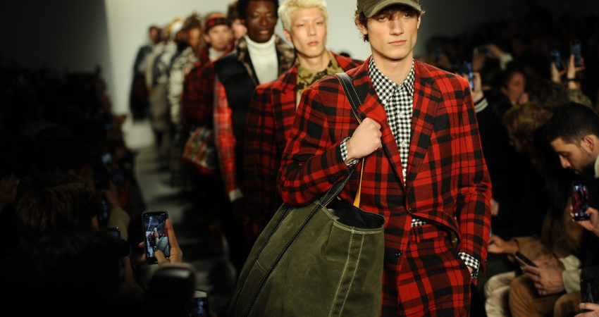Photos: Duck boots took the runway at New York Fashion Week