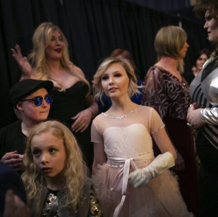 At trans fashion show, focus is on models